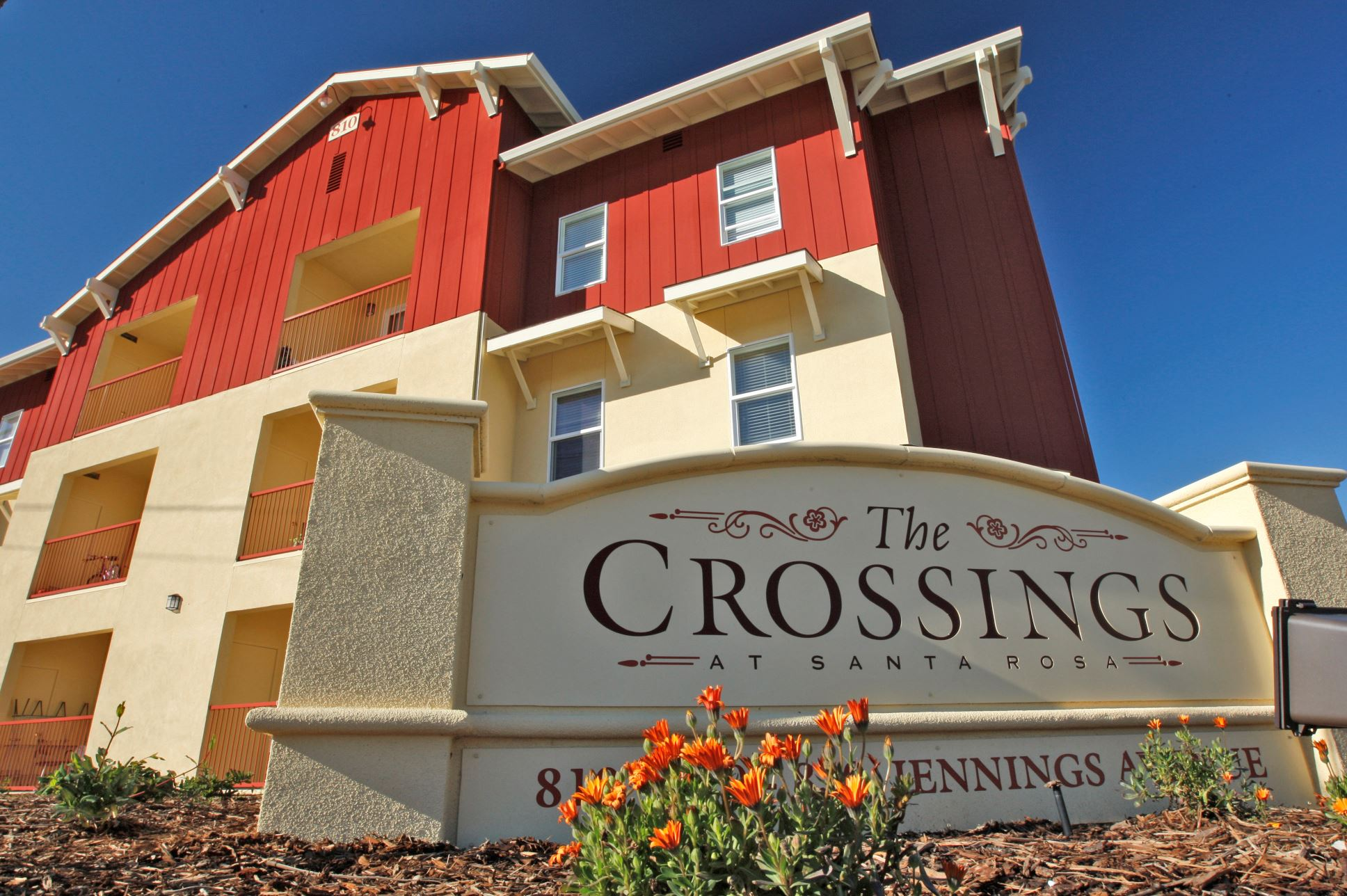 The Crossings Front Sign Feb. 27 2008
