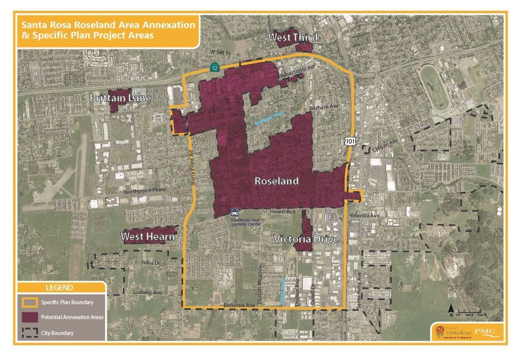 Roseland Specific Plan