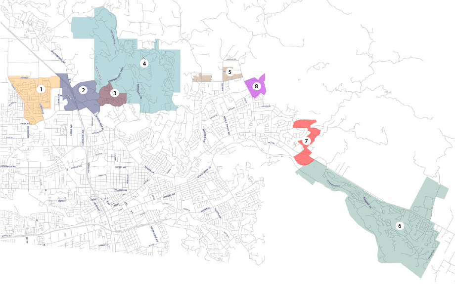 Fire Combining Districts