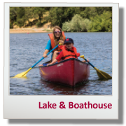 HP Lake and Boathouse Button