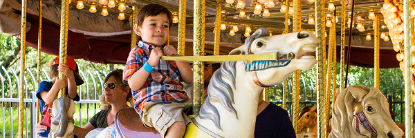 Boy on Carousel