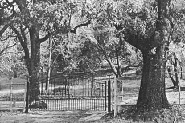 Rural Cemetery Historical Photo of Franklin Gate