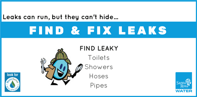 Find  Fix Leaks WaterSmart