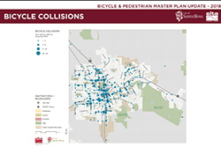 Bicycle Collisions Map 2018