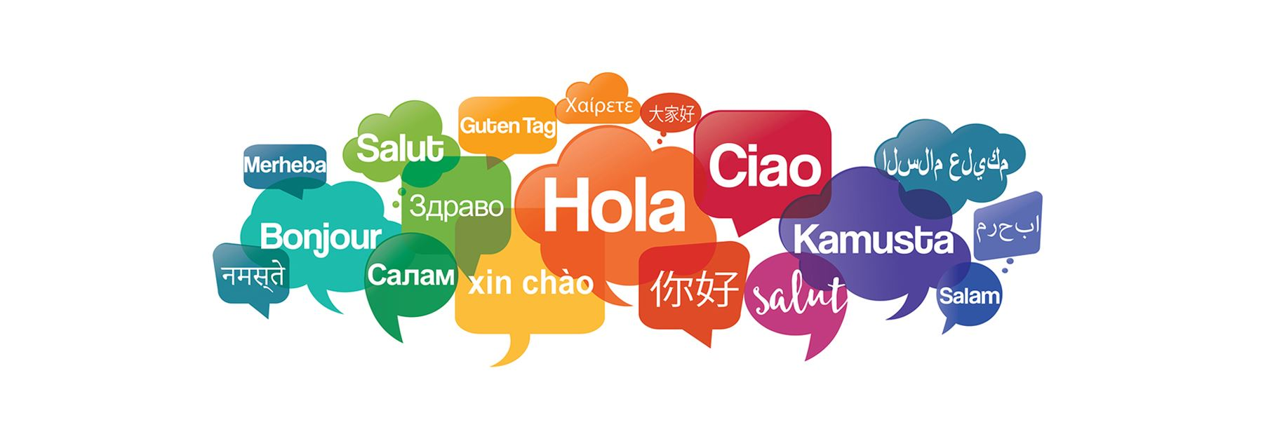 We can offer assistance in over 200 languages