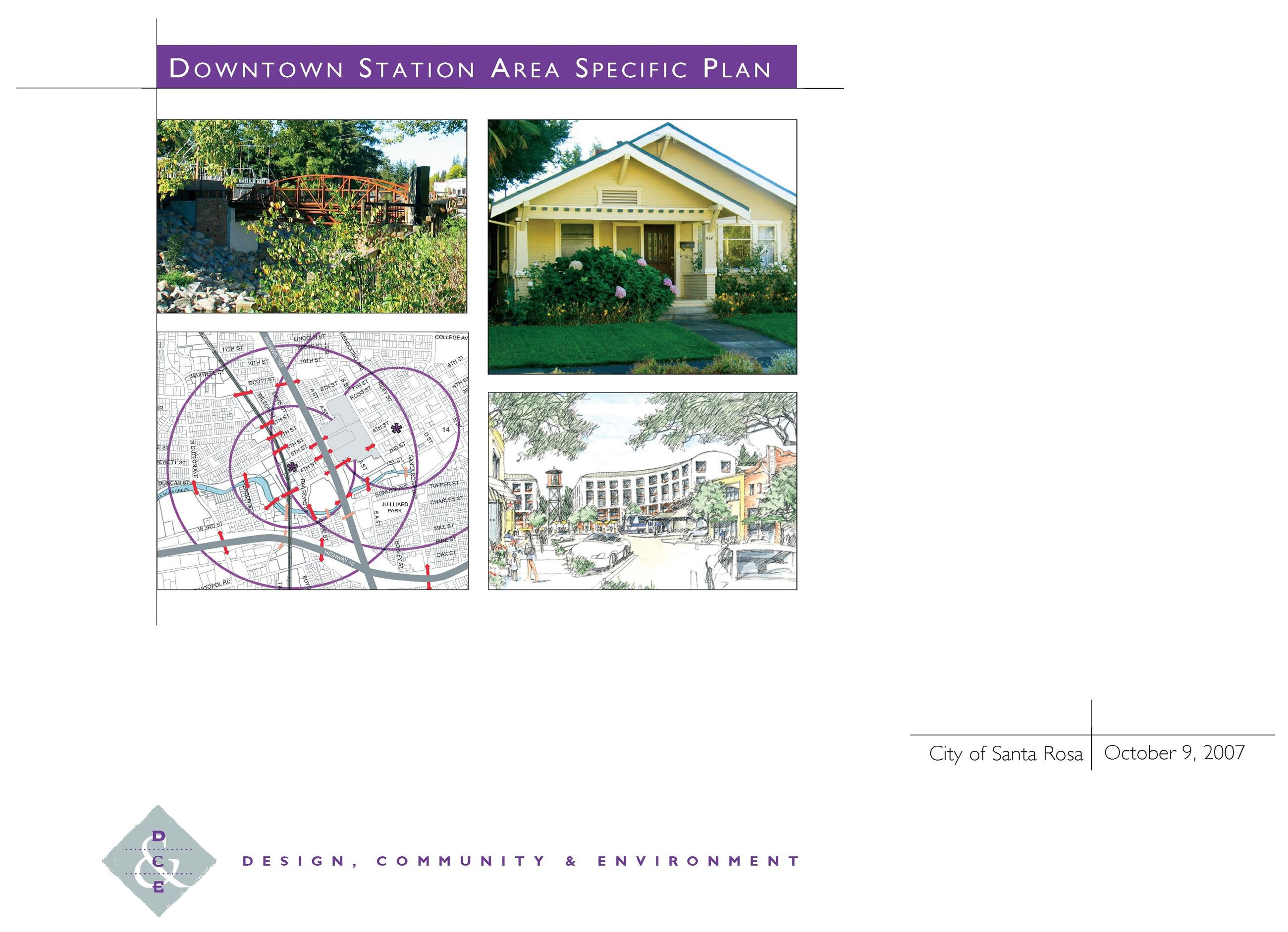 2007 Specific Plan Cover Page