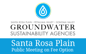 Santa Rosa Plain Public Meeting on Fee Option