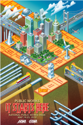 Public Works Week 2019 Poster thumbnail