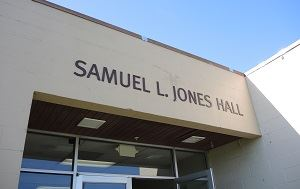 Samuel L. Jones Hall exterior