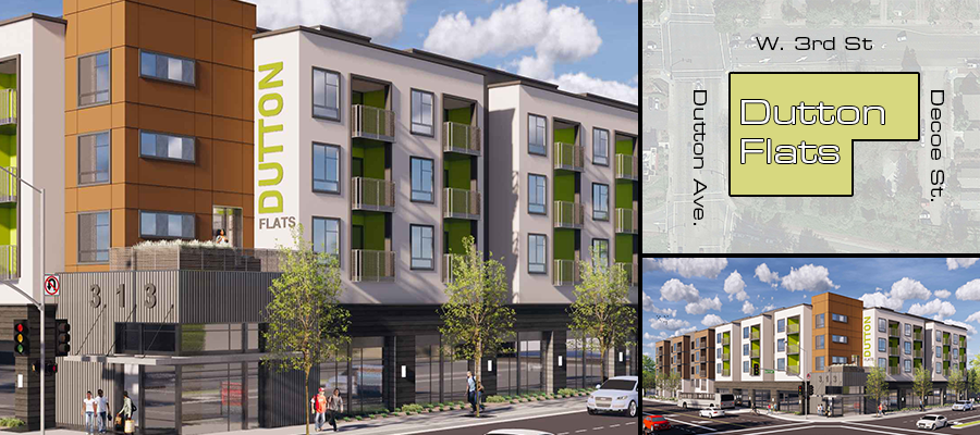 Dutton Flats Renderings and Parcel