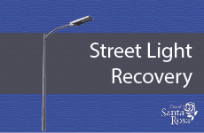 CIP Street Light Recovery News Flash wLogo
