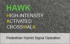 HAWK Crosswalk Signal News Flash City
