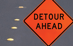 Road Detour News Flash Home