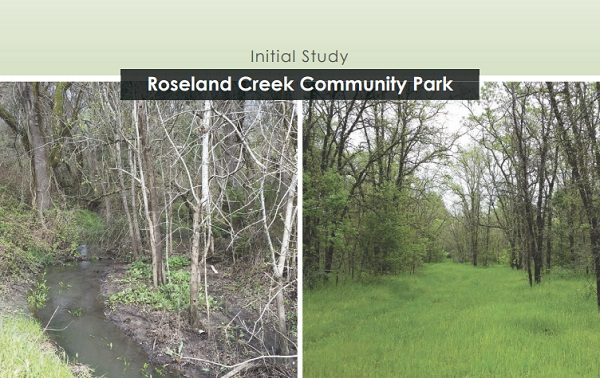 Roseland Creek Community Park Environmental Initial Study_news flash
