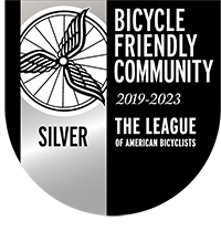 Bicycle Friendly Community Silver-level award
