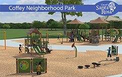 Coffey Neighborhood Park Construction News Flash home page