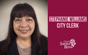 City of Santa Rosa Clerk Stephanie Williams