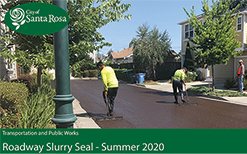 News Flash - Slurry Seal 2020