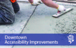 Downtown Accessibility Improvements News Flash
