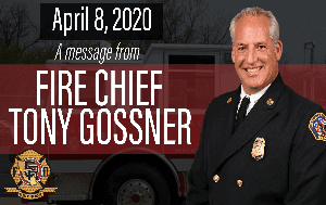 Fire Chief Tony Gossner