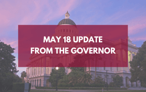 Update from the Governor