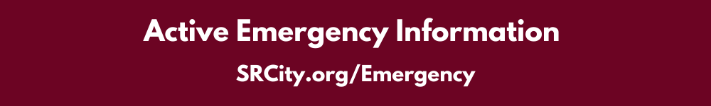 Active Emergency Information - SRCity.org/Emergency
