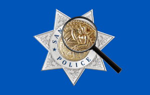 SRPD Badge With Magnifier