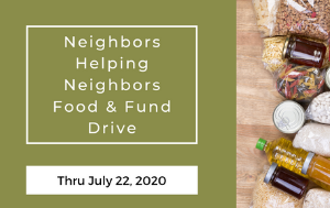News Flash_Food Drive_7.22.20