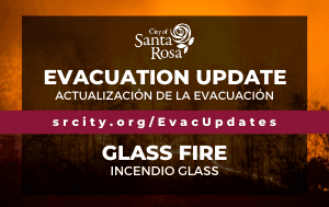 News Flash_Glass Fire Evacuation Update