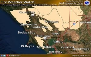 10.18.20 NWS Fire Weather Watch