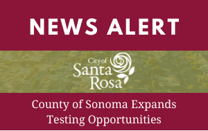 News Flash 10-19-20 County Testing Opportunities