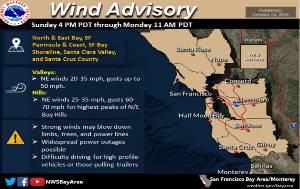High Wind Advisory - issued Oct. 24