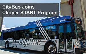 CityBus Joins the Clipper START Program