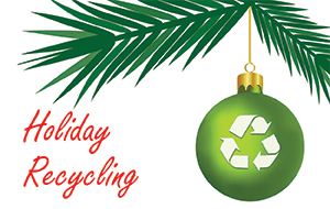 Holiday Recycling image NF
