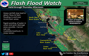 News Flash_Flash Flood Watch_1.27.21