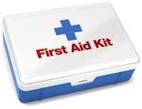 First Aid Kit that should be included in an emergency kit.