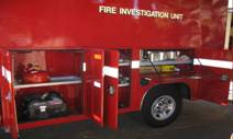 Fire Investigation Unit Vehicle