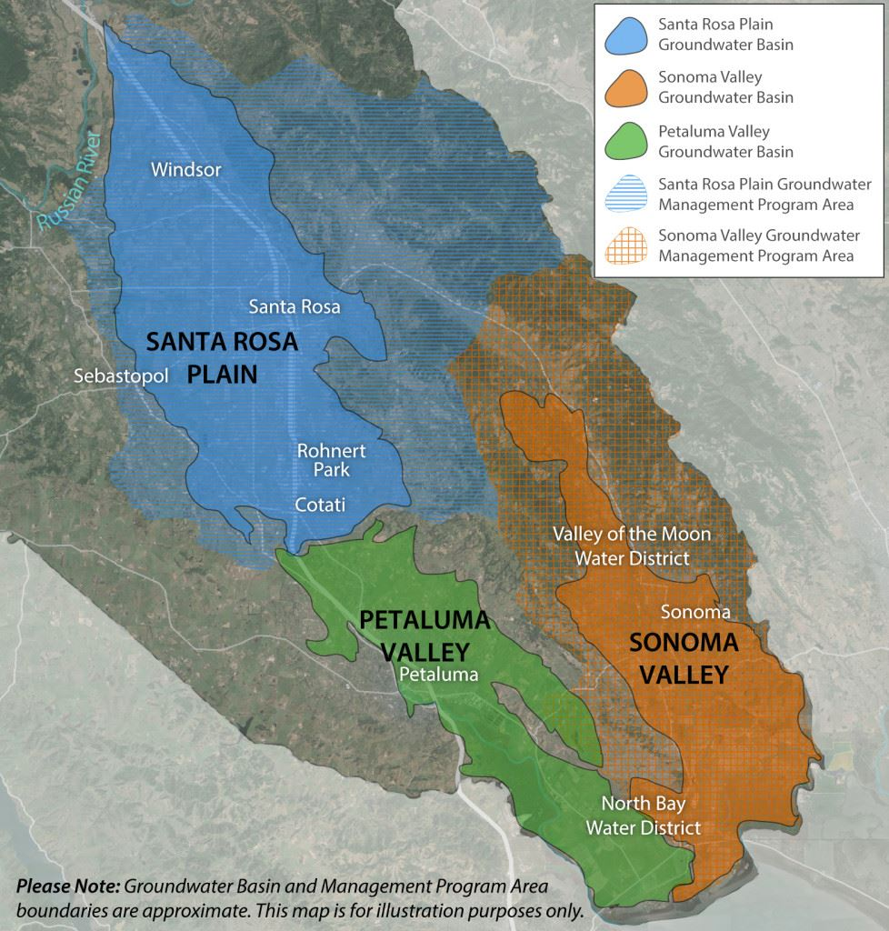 Sustainable Groundwater Management Act Map