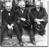 The Meeting of Thomas A. Edison, Henry Ford, and Luther Burbank on the Porch of Burbank's Santa R