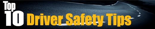 Safety Tip logo with double yellow lines