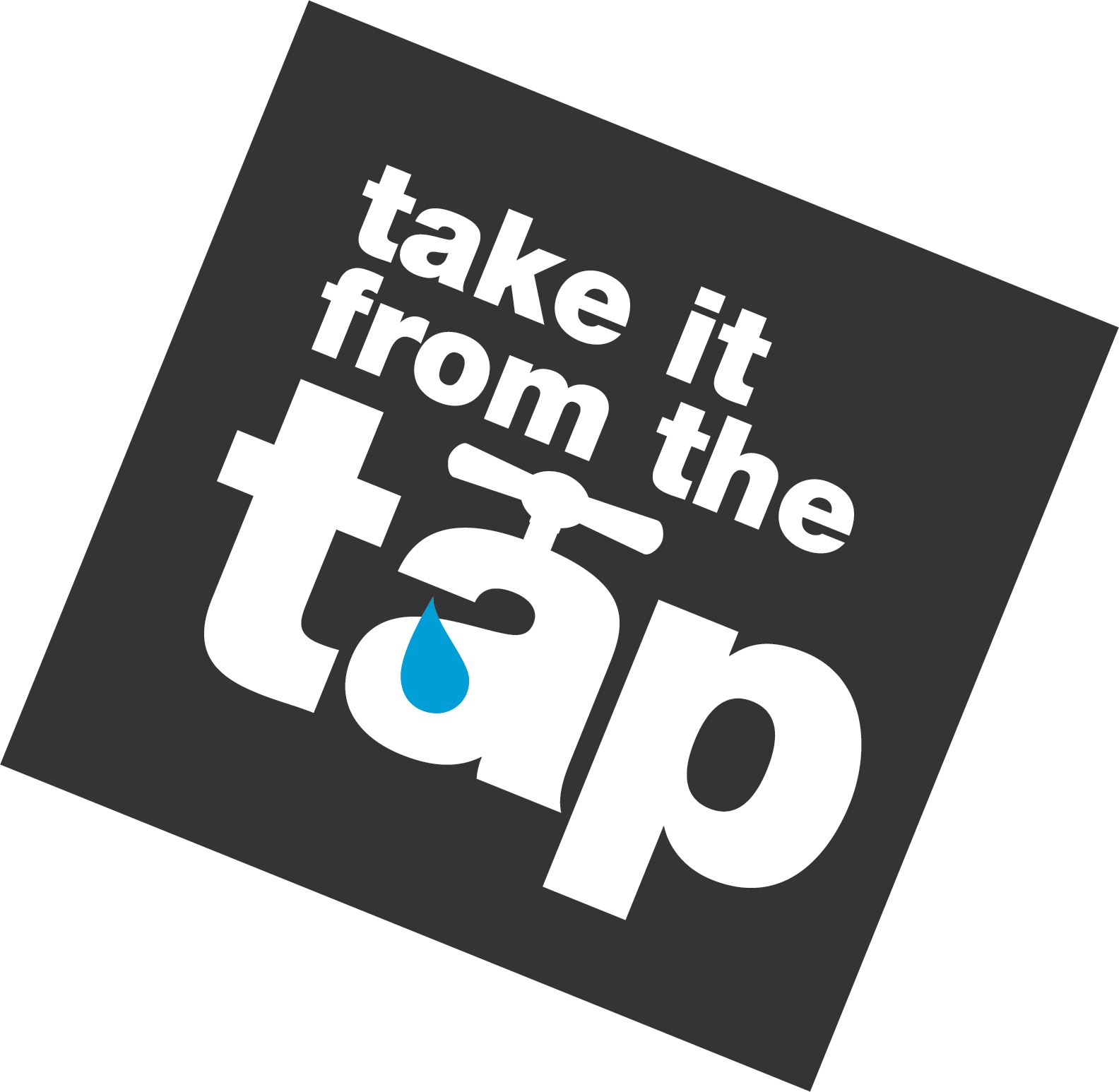 Take It From the Tap Logo