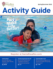 Spring Summer Activity Guide Cover