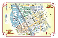 Printable Downtown Map Thumbnail