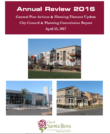 2016 Housing Element Update Cover