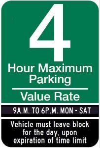 Lot Value Sign