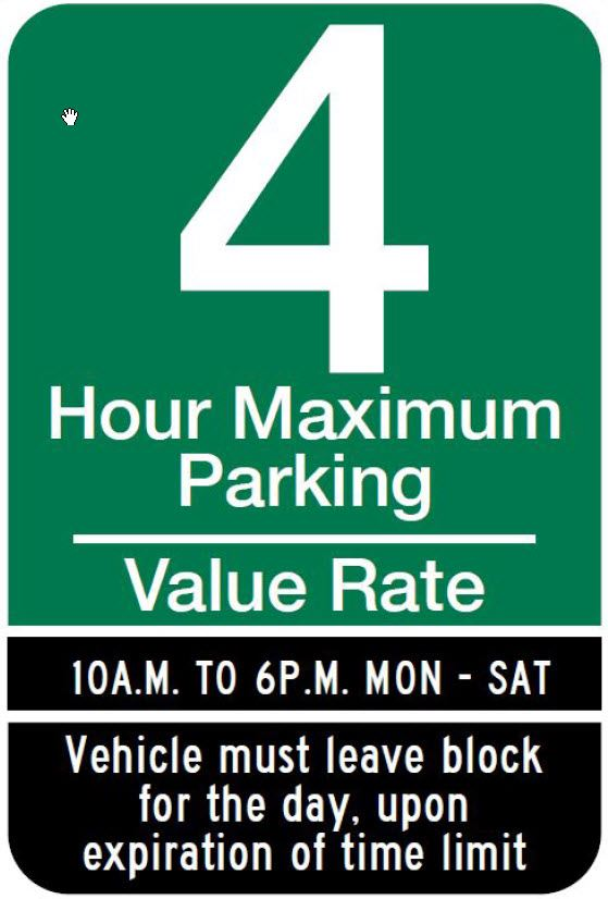 Meter Value Sign