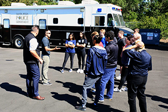 Youth Community Police Experience
